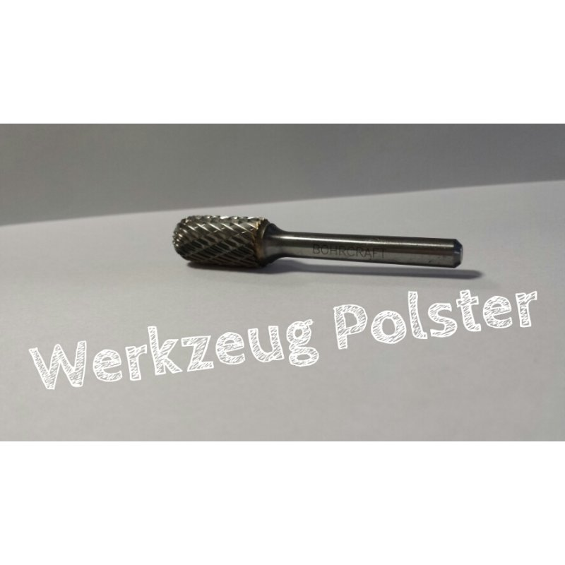 Bohrcraft Frässtift Form C Walz. P-Plus // 12,0 mm BC-Verp.